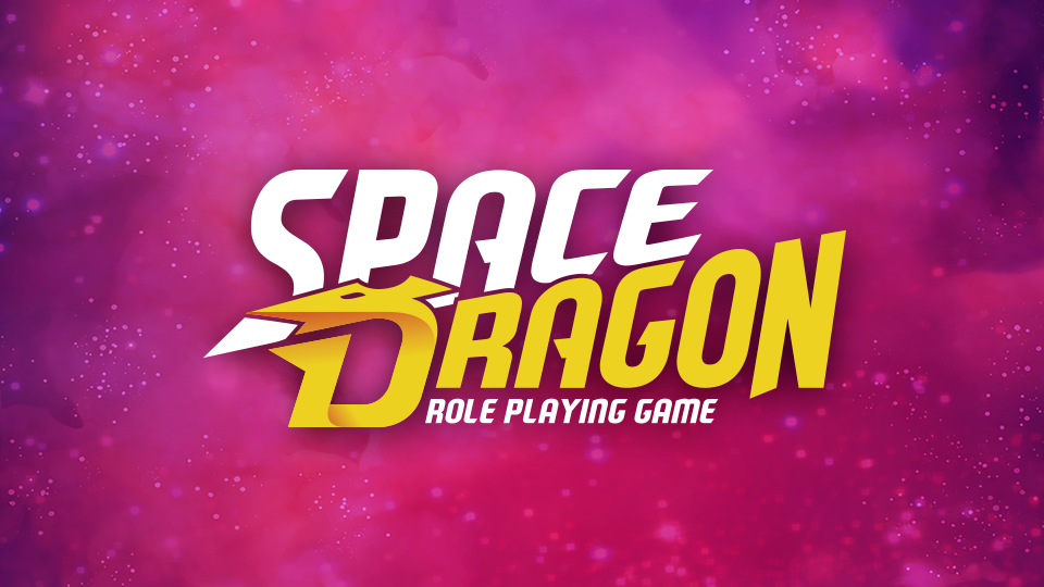 Space Dragon RPG logo