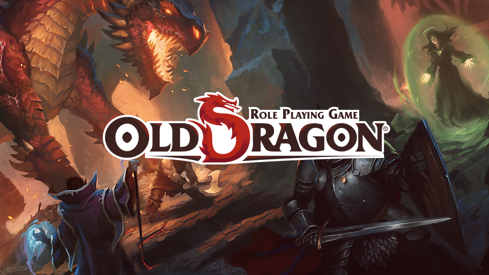 Old Dragon RPG logo